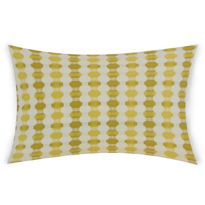 Goode Lumbar Pillow Color: Green