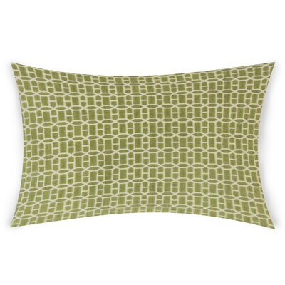 Errico Lumbar Pillow Color: Light Green