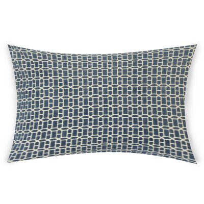 Errico Lumbar Pillow Color: Navy