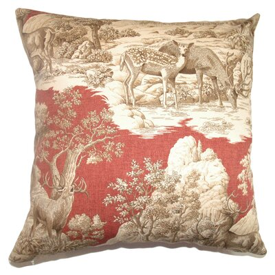 Elijah Oversized Toile Floor Pillow