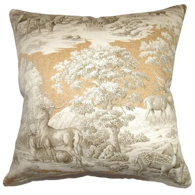 Elijah Traditional Toile Floor Pillow