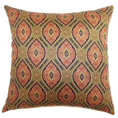Piedmont Paisley Floor Pillow Color: Midnight
