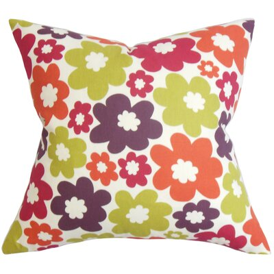 Brouillard Floral Floor Pillow