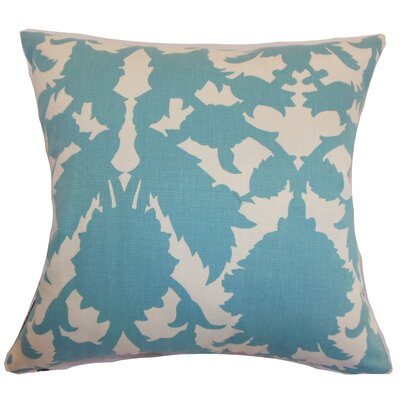 Yohji Damask Floor Pillow Color: Turquoise