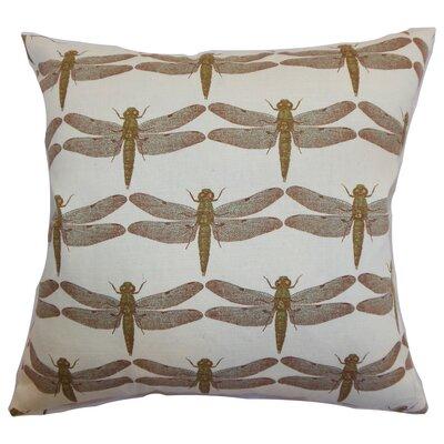 Melody Dragonfly Floor Pillow Color: Aqua