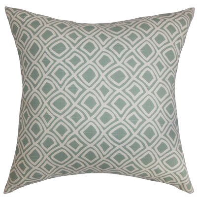 Cassity Geometric Floor Pillow Color: Surf
