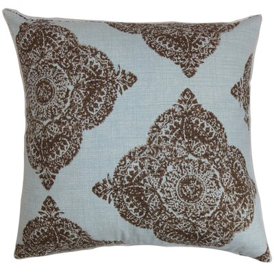 Pepin Damask Floor Pillow Color: Chambray