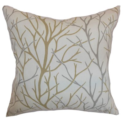 Renoir Trees Floor Pillow Color: Toffee