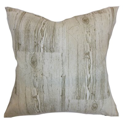 Sherilyn Graphic Floor Pillow Color: Dove