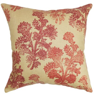 Virginie Floral Floor Pillow