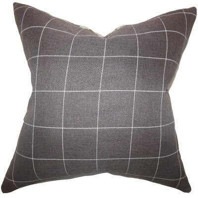 Justus Plaid Floor Pillow
