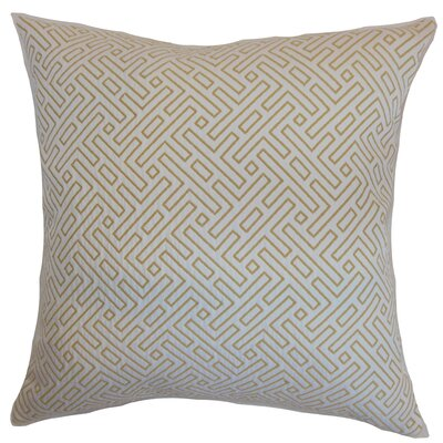 Kibler Geometric Floor Pillow Color: Hayride