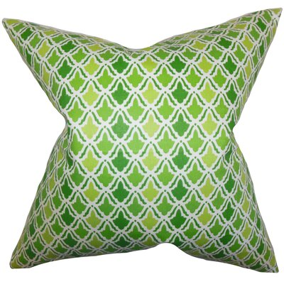 Caster Geometric Floor Pillow