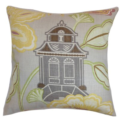 Robin Floral Floor Pillow