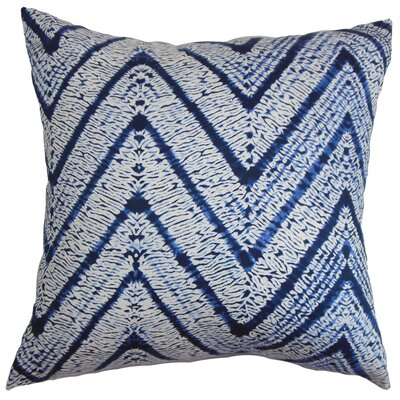 Burditt Zigzag 100% Cotton Floor Pillow