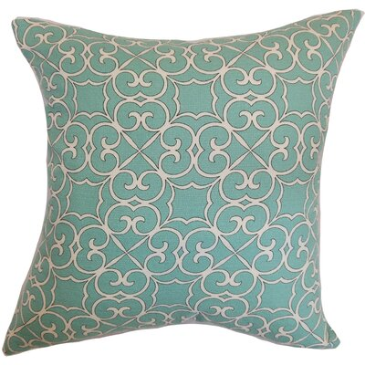 Ambra Geometric 100% Cotton Floor Pillow