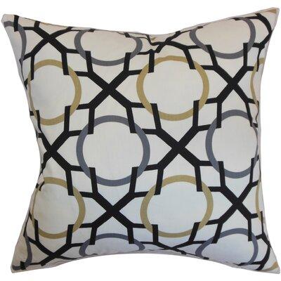 Remington Geometric Floor Pillow Color: Slate