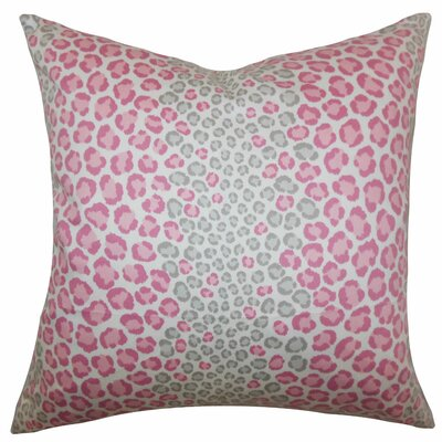 Deondre Animal Floor Pillow Color: Pink