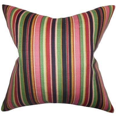 Pemberton Stripes Floor Pillow Color: Pink