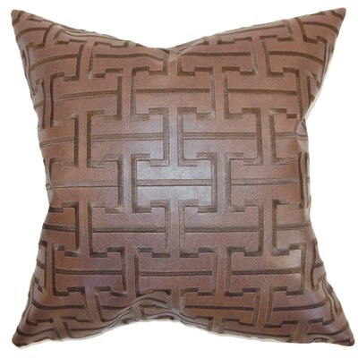 Lanning Geometric Floor Pillow