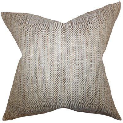 Alfred Woven Floor Pillow Color: Neutral