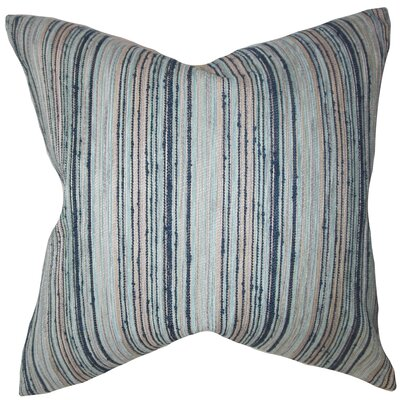Broadbent Stripes Floor Pillow Color: Blue