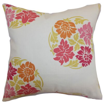 Amarante Floral Floor Pillow