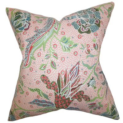 Croghan Floral Floor Pillow