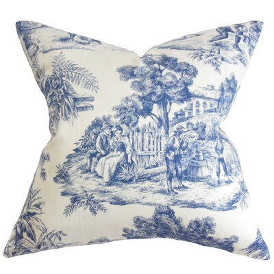 Chalgrave Toile Etoile Floor Pillow