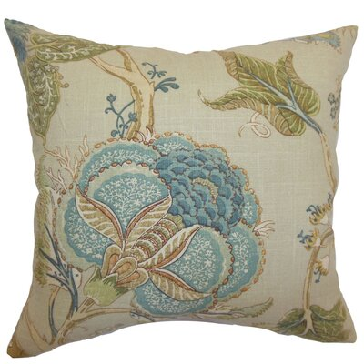 Daleyza Floral Floor Pillow
