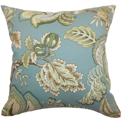 Cathey Floral Floor Pillow