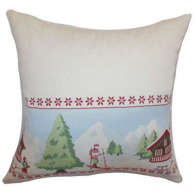 Florina Holiday Floor Pillow