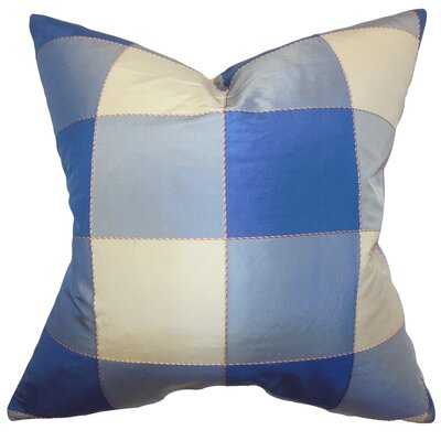 Noreen Plaid Floor Pillow