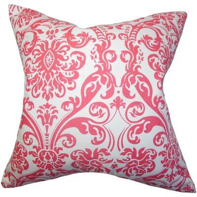 Mankin Damask Floor Pillow Color: Candy Pink