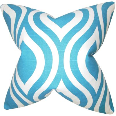 Suzanne Geometric Square Floor Pillow