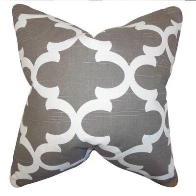 Houseknecht Geometric Floor Pillow Color: Brown