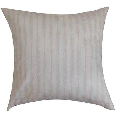 Salisbury Stripes Floor Pillow Color: Bella Twill