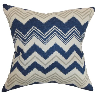 Hazlett Zigzag Floor Pillow Color: Birch