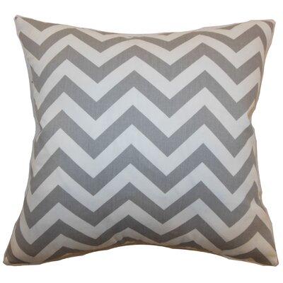 Burd Zigzag Floor Pillow Color: Ashes
