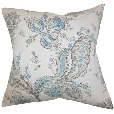 Housman Floral Floor Pillow Color: Blue