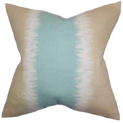 Fountaine Geometric Floor Pillow Color: Beach