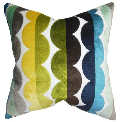 Kiel Geometric Floor Pillow Color: Bright