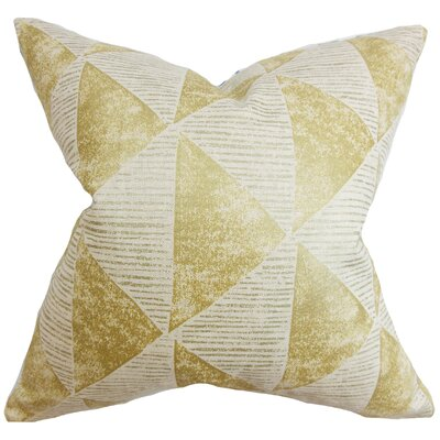 Dunlin Geometric Floor Pillow
