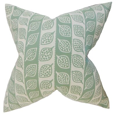 Aaron Foliage Floor Pillow Color: Leaf Green