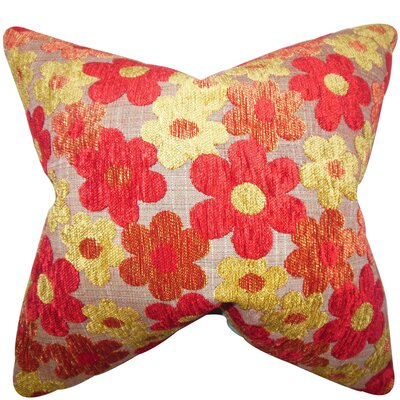 Senecaville Floral Floor Pillow