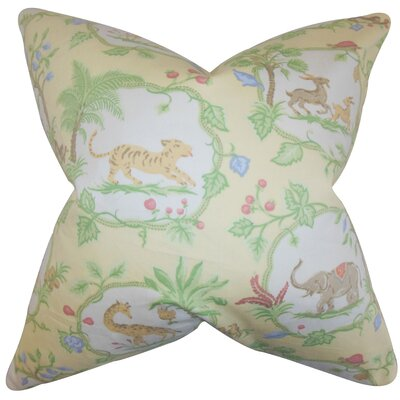 Deniece Floral Floor Pillow
