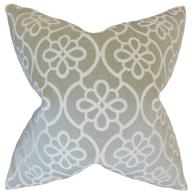 Chaplain Geometric Floor Pillow Color: Dove