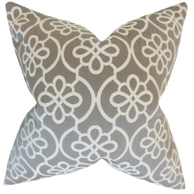 Chaplain Geometric Floor Pillow Color: Gray