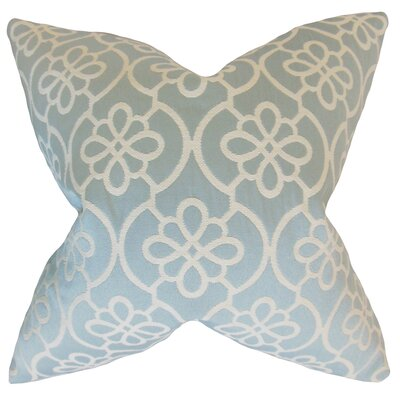 Chaplain Geometric Floor Pillow Color: Sea Foam
