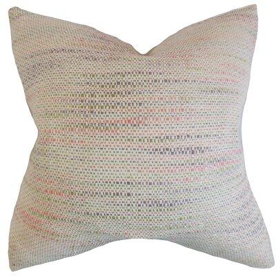 Chrisholm Stripes Floor Pillow Color: Bubble Gum